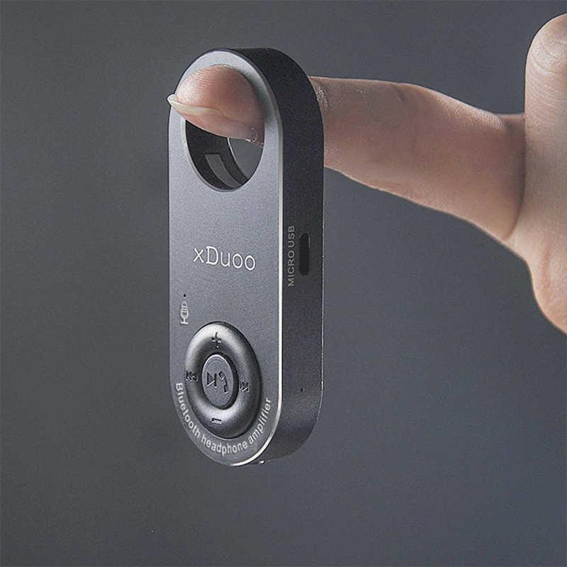 XDUOO XQ-23 ミニ Bluetooth ポータブルヘッドホンアンプ高性能 WM8955 DAC 作ら