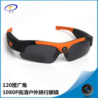 2017 New Smart Glasses Hd 1080P Sports Outdoor Camera Sunglasses For Bike Driving Record Photos Video