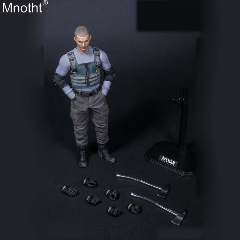 Mnotht TOYS VM-021 1/6 Scale AXEMAN FRANCISCO Model Male Clothes Accessory Model for 12inch Collection Action Figure m3n mnotht fg044 1 6 alien heteromorphic xenomorph egg facehugger model for 12inch action figure sence accessories deep green mb