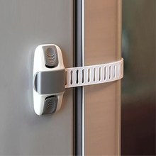 60Pc/lot wholesale Cabinet Lock Baby Protection From Children Safe Locks Baby Security Drawer Latches for Refrigerators