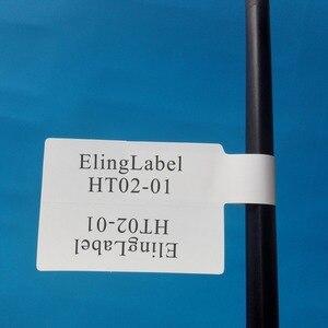 Image 4 - 300 개/몫, 84x26mm 네트워크 케이블 라벨 스티커, 방수, 눈물 방지, 쓰기 또는 인쇄, 항목 번호 ht02