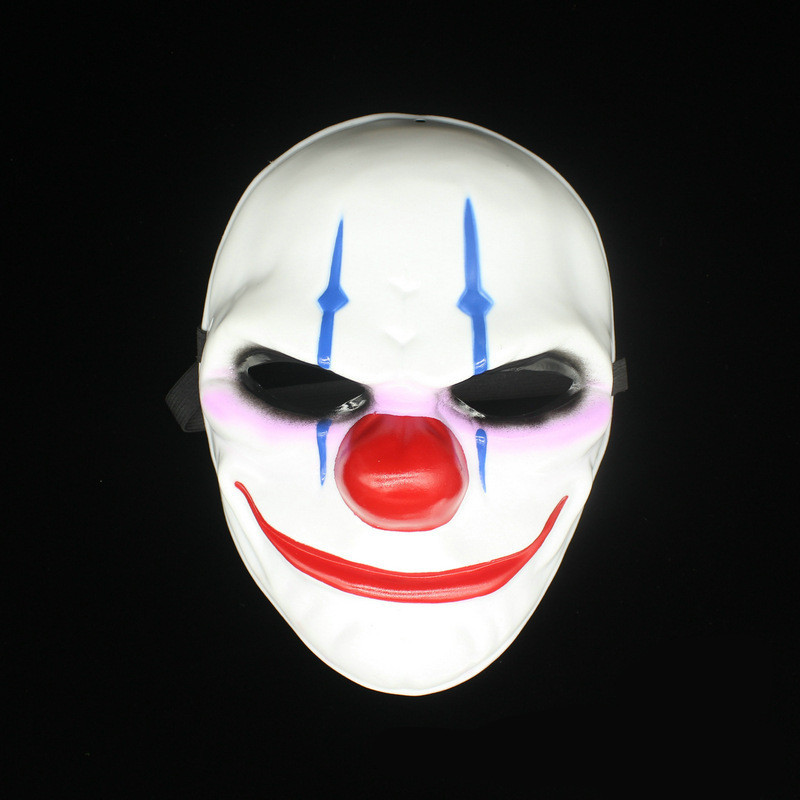 Payday 2 Masker Dallas masker / Wolf / Kettingen / Hoxton cosplay - Feestversiering en feestartikelen - Foto 5