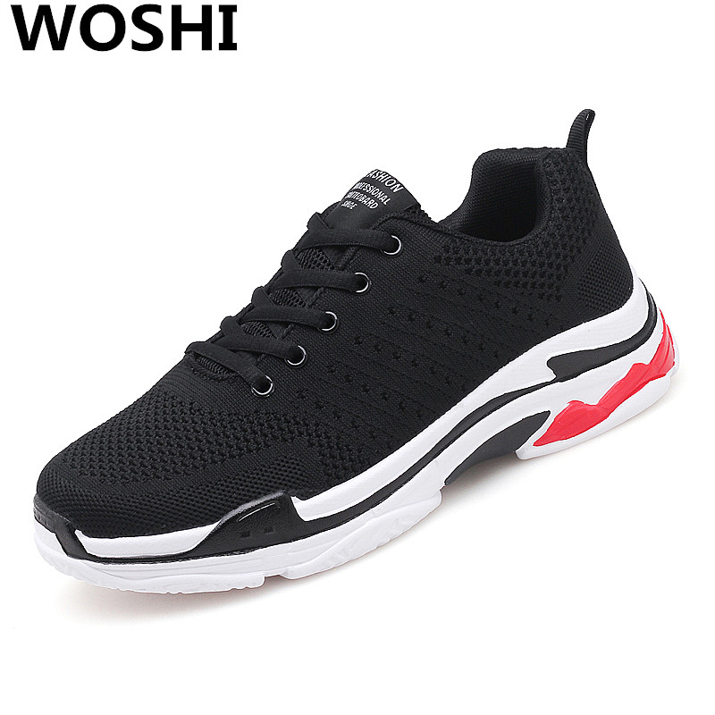 Summer Men Sneakers Beathable air Mesh Male outdoor running sports Shoes Slip on Sock comfortable lightweight Shoes Loafers w5