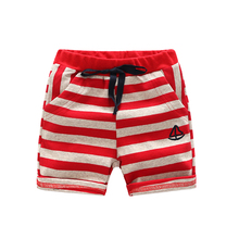 2018 Children Pants For Baby Stripes Summer Beach Trousers Boys Loose Shorts Boy Short