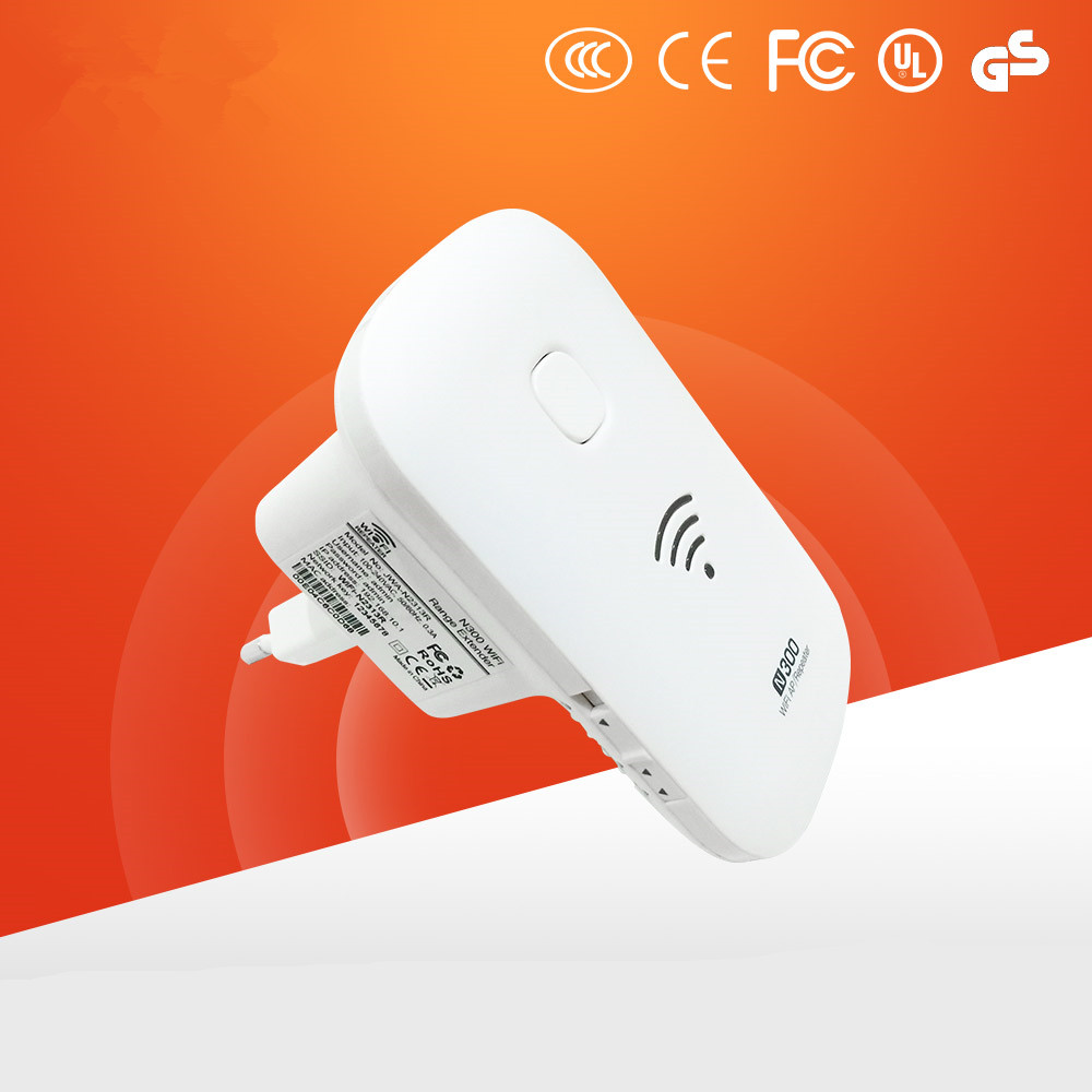 Image 4 - Kuwfi 300Mbps 2.4GHZ Wifi Wireless Repeater Wifi Range Extender Wifi Router Support WPS AP Mode Boost Existing Network Range-in Wireless Routers from Computer & Office