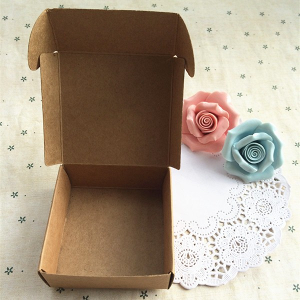 8X.8X4cm kraft gift paper boxes packaging handmade soap food packaging,good for gift! can custom, more size in shop