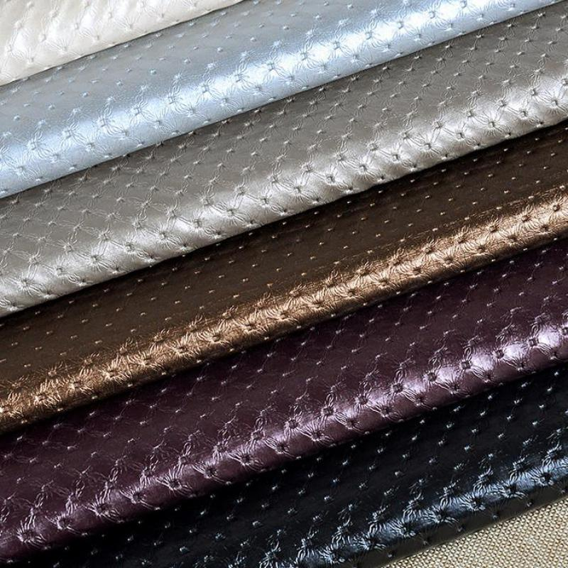 100x135cm Pvc Synthetic Leather Furniture Fabric Pvc
