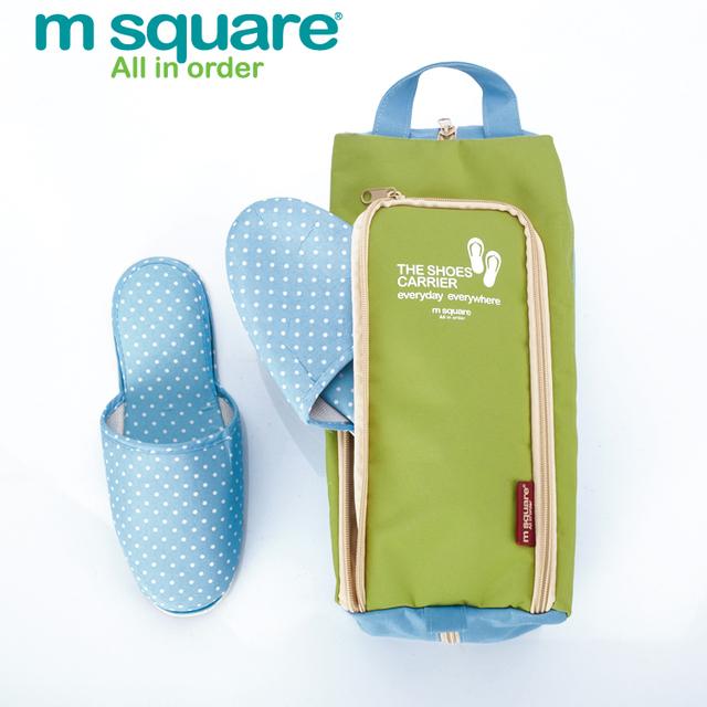 M Quadrado saco de Acessórios de Viagem Para O Saco Sapato Sapatos Saco De Sapatos Organizador Organizadores