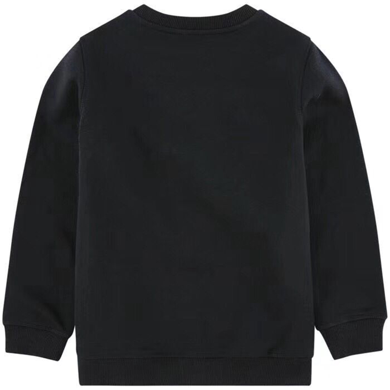 Kids Sweatshirt Children Autumn Tops T-shirt Cotton Casual Long Sleeve Black Sweatshirts in stock купить недорого в Москве
