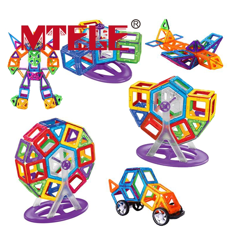 MTELE Brand Magnetic Designer 68/89 Pcs Magnetic Building in Blocks Brick Toy Education Educational for Toddlers Baby Kid Toy купить