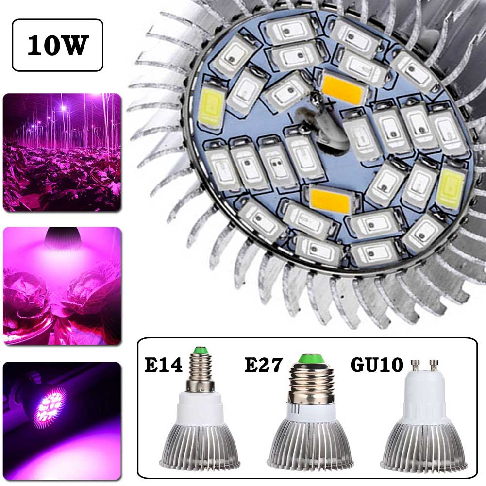 Hot 5730SMD 28Led Full Spectrum Greenhouse Hydroponic Grow Plant Light Bulb Lamp With 4Functions For Plant Breeding Room