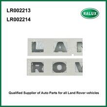 Автомобиль спереди бренд письмо наклейки серебро для LAND ROVER freelander 2 автомобиля спереди табличка внешние аксессуары LR002213 LR002214