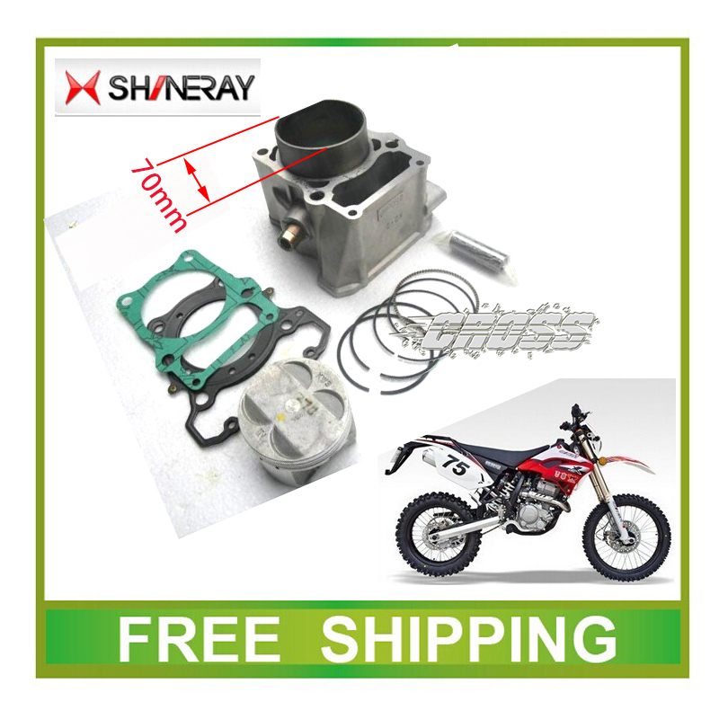XY250GY SHINERAY 250CC x2 x2x engine cylinder block piston ring pin full set accessories free shipping free shipping 91 1mm high wear resistance engine piston ring set for mitsubishi 4 cylinder 4d55 md 050021