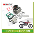 XY250GY x2 x2x SHINERAY 250CC двигатель блока цилиндров поршневых колец контактный полный набор аксессуаров бесплатная доставка