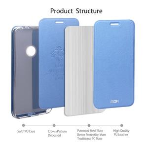 Image 3 - MOFi Case for Redmi Note 7 Case for Redmi Note 7 Pro Flip Case for Xiaomi Redmi Note 7 PU Leather Transparent TPU Protect Capas