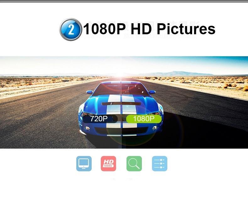 Купить Новые Камеры Автомобиля Автомобиля Dvr Синий Отзыв Зеркало Цифровой Видеорегистратор Авто Регистратор Видеокамеры Full HD 1080 P Камеры Автомобиля видеорегистраторы