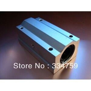 """Image 1 - 2 יחידות 16 מ""""מ SC16LUU SCS16LUU ינארית כדור Bearing בלוק CNC נתב כרית"""