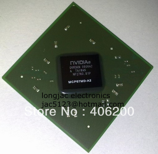1PC warranty 100% good quality nVIDIA MCP67MD-A2 bga chips , free shipping