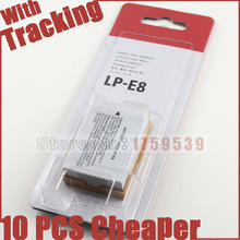 LP-E8 LP E8 LPE8 Batería de La Cámara Para Canon EOS 550D 600D 650D Rebel T2i T3i T4i beso X4 X5 X6i X7i 700D T5i Baterías