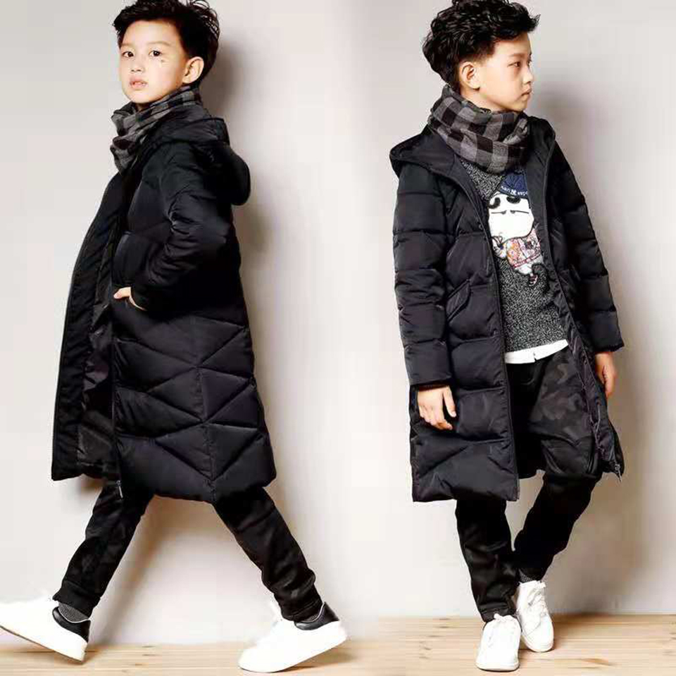 2018 New Fashion Winter Coat Children Baby Kids Clothes 6 7 8 9 10 12 13 Yrs Boy Clothing Parka Hoodies Outerwear Boys Coat fashion baby boys jacket 2018 children clothing winter outerwear kids clothes 1 6 yrs boys hoodies down coat boys jackets