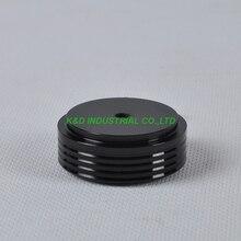 1pc 44X17mm Black aluminum feet HIFI pad Chassi DIY Headphone Amplifier Speaker DAC Aduio