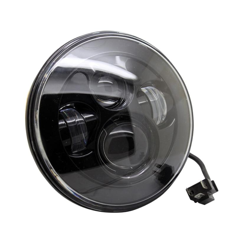 2 vnt. / Partija SUNKIA 7 colių LED priekinis žibintas, skirtas - Automobilių žibintai