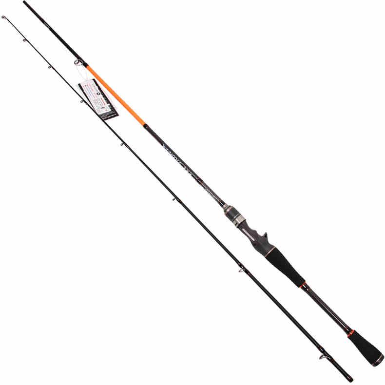 TSURINOYA 2.1M Fast Casting Fishing Rod FUJI Ring M action Baitcasting Rod Fishing Carton materials Rod Pioneer702M iscas pesca
