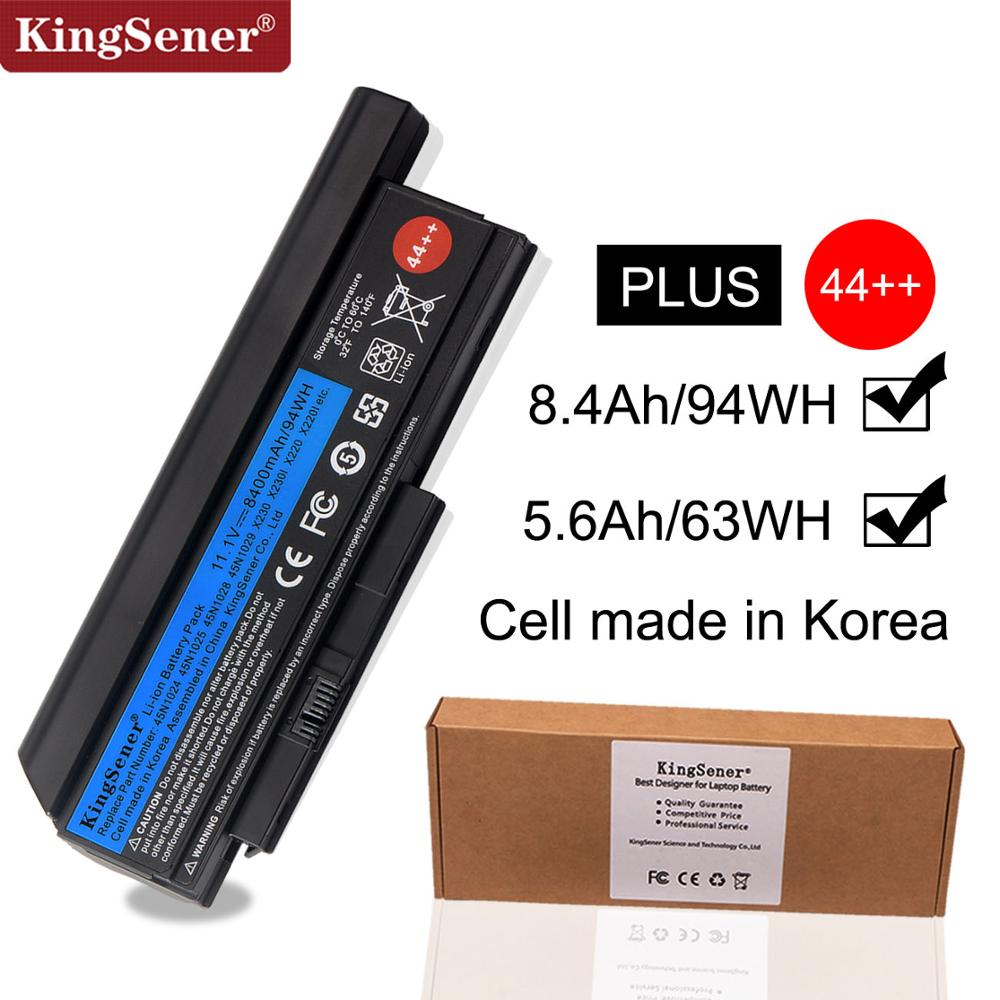Korea Cell KingSener New Laptop Battery For Lenovo Thinkpad X230 X230I X230S 45N1029 45N1028 45N1022 45N1021 45N1024 44++