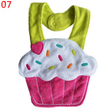 Kids Girl Boy Animal Saliva Towel Waterproof Lunch Bibs Newborn Toddler BIbs Hot Selling