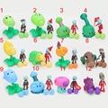 12 pçs/lote 12 estilo PVZ Plantas vs Zombies Peashooter Toy PVC Action Figure Modelo Brinquedos Presentes Para Crianças do saco de opp