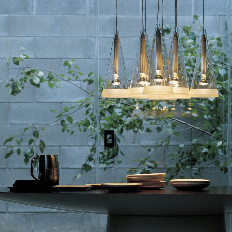 Lighting lamps personality creative Nordic modern simple Western restaurant bar table triangle cone glass wind chime chandelierLighting lamps personality creative Nordic modern simple Western restaurant bar table triangle cone glass wind chime chandelier