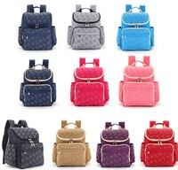 Free Shipping! Smart Backpack Diaper Bag Nappy Bag Changing Bag+Changing Pad+Stroller hooks