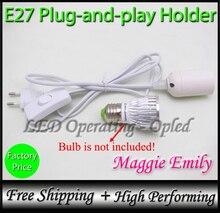 Plug-и-игры цоколь европе лампы, плагин базы россия шнур переключатель питания супер