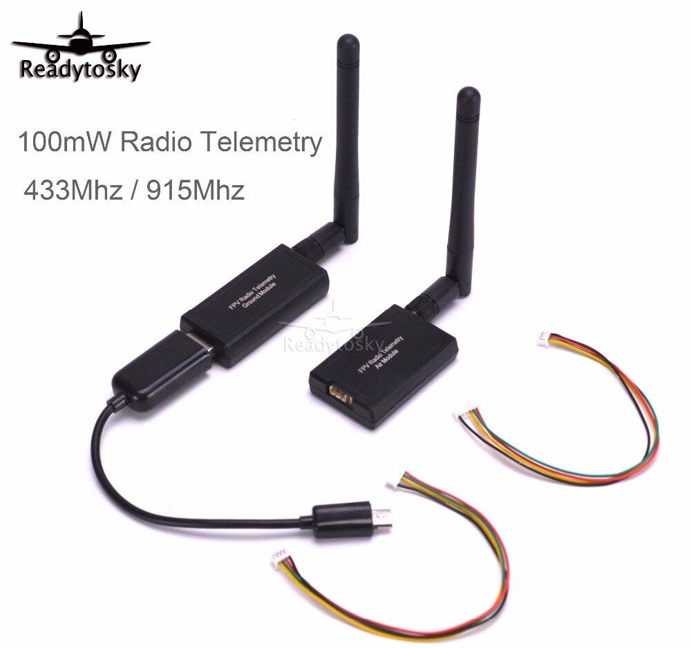 3DR 100mW / 500mW / 1000mW Radio Telemetry 433Mhz 915Mhz Air & Ground Data Transmit Module For APM2.6 2.8 Pixhawk Flight Control