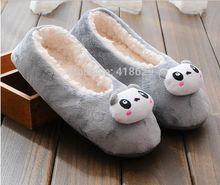 2015 neue Winter Warme Plüsch Hause Hausschuhe Schuhe Cartoon Niedlichen Hausschuhe Für Frauen Und Männer Lammfell Hausschuhe