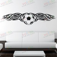 Free shipping Wall Stickers Wholesale and retail Wall decor PVC material decals wallpaper World Cup football Z-172