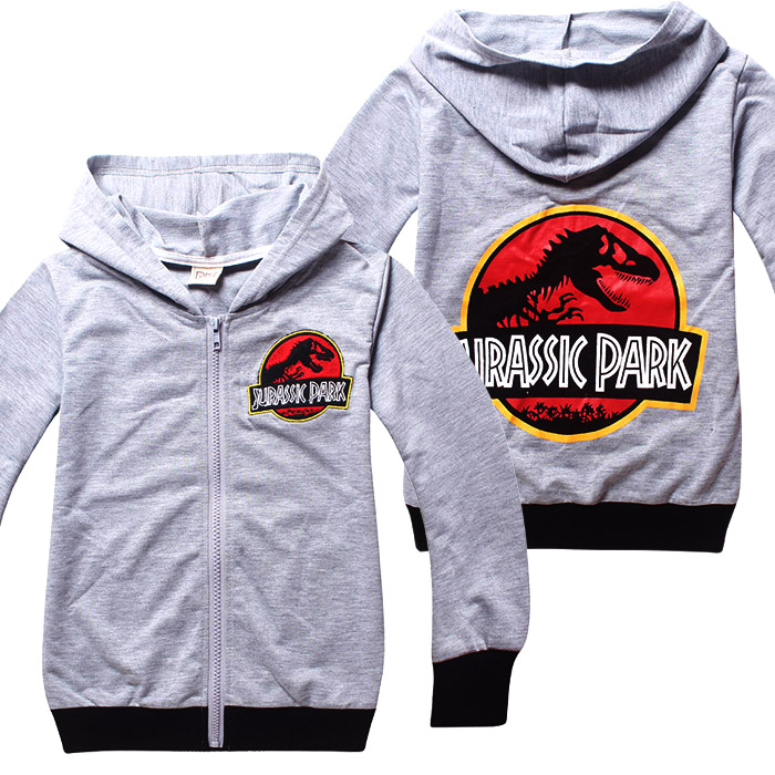 Jurassic Park Boys Hooded Sweatshirt