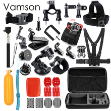 Vamson for Gopro Hero 5 Accessories Set For Gopro Hero 5 black hero 4 3+ session for xiaomi yi SJCAM accessories VS79