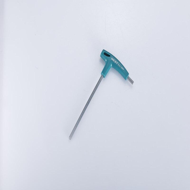 Шестигранный ключ с Т-образной ручкой, инструменты для винтов с шестигранной головкой 2,5 мм~ 10 мм