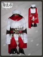 Anime Chaos Dragon Ibuki Fashion Uniform COS Clothing Cosplay Costume Hat+Tops+Sarf