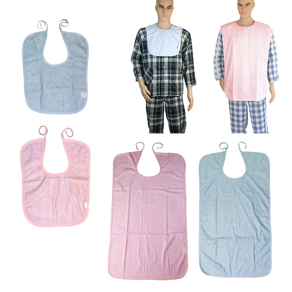 40x30 cm Adults Bibs Protective Meal Time Bib Apron Protector for Baby Children
