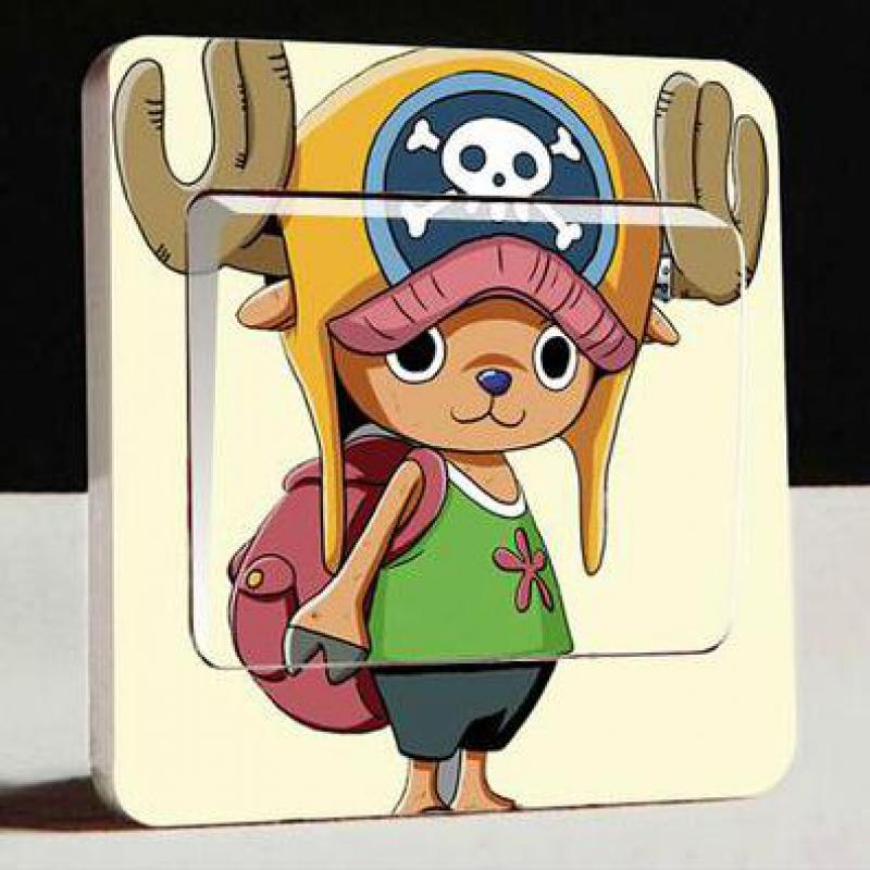 1 pcs Switch Stickers  Independent Packaging The Latest Creative One Piece Road Fly Wanted Order