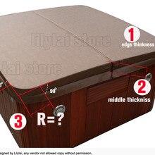 Spa кожаный чехол винил только 2200 мм x 2170 мм, любой размер любой формы могут быть выполнены по индивидуальному заказу