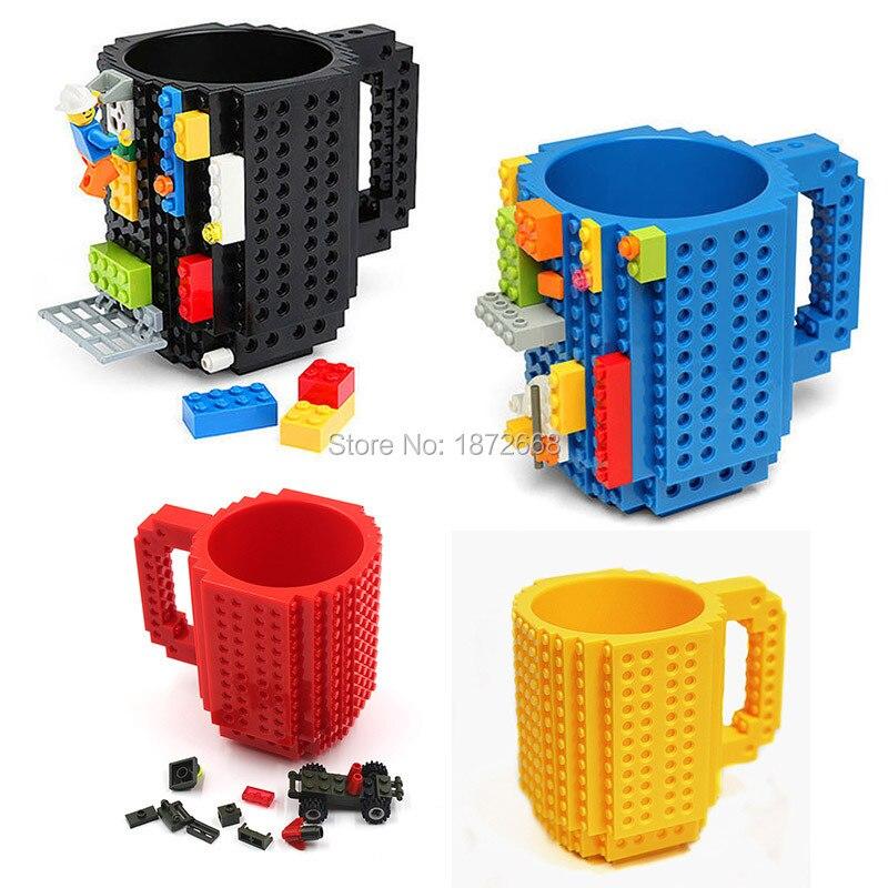 Budowanie Na Typu Lego Building Blocks Cegły Kubek Kawy Kubek Kubek