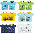 Top Kids Boys Girls T-shirts Creative Cartoon Summer Short Sleeve Tops Child's Clothing Boy Girl Brand Tees Baby Cotton Clothes