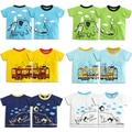 Top Niños Muchachas de Los Muchachos Camisetas Creativo de Dibujos Animados de Verano Camisetas de Manga Corta Ropa de la Muchacha del Niño Marca Camisetas Del Algodón Del Bebé ropa