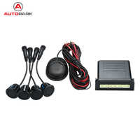 100% Original Ebat C1 4 Sensors Parking Assistant Sensors Reverse Radar Alert System with External Buzzer Speaker