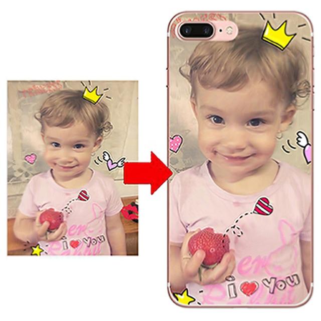 DIY de diseño de la caja del teléfono para Huawei P20 P9 P10 Plus P inteligente Honor 10 9 8 Lite 7 foto cubierta impresa personalizar Y7 Y5 Y6 Y3