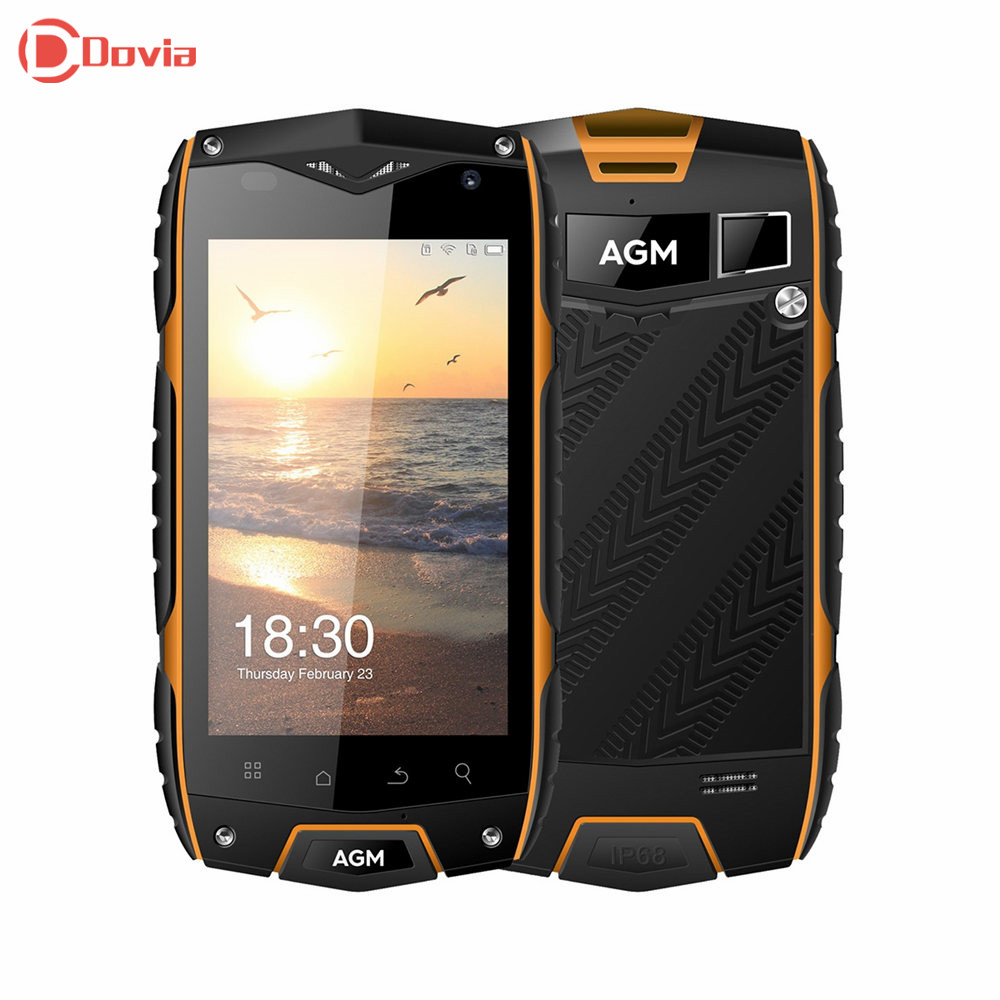 AGM A7 4G Smartphone 4.0 inch Android 6.0 MSM8909 Quad Core 2GB RAM 16GB ROM IP68 Waterproof Light Sensor 8.0MP Camera Pone