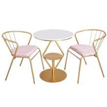 Северный стул простая спинка обеденный стул домашний отдых Балконный стол десерт чайный магазин сеть красного цвета, для журнального столика и стула